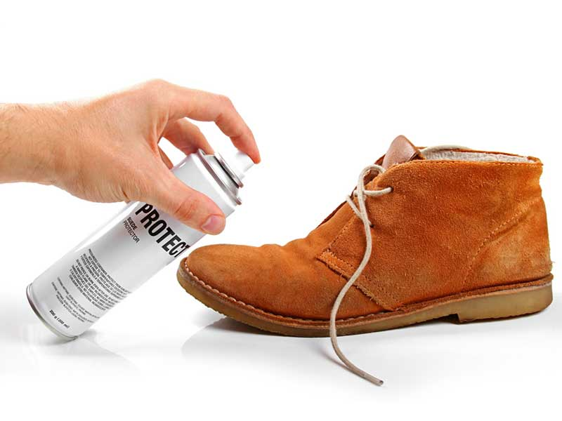 Spray-On shoe impregnation, fabric protection, stain protection and odour control on textiles, fibres, upholstered furniture and leather (durable water repellents)